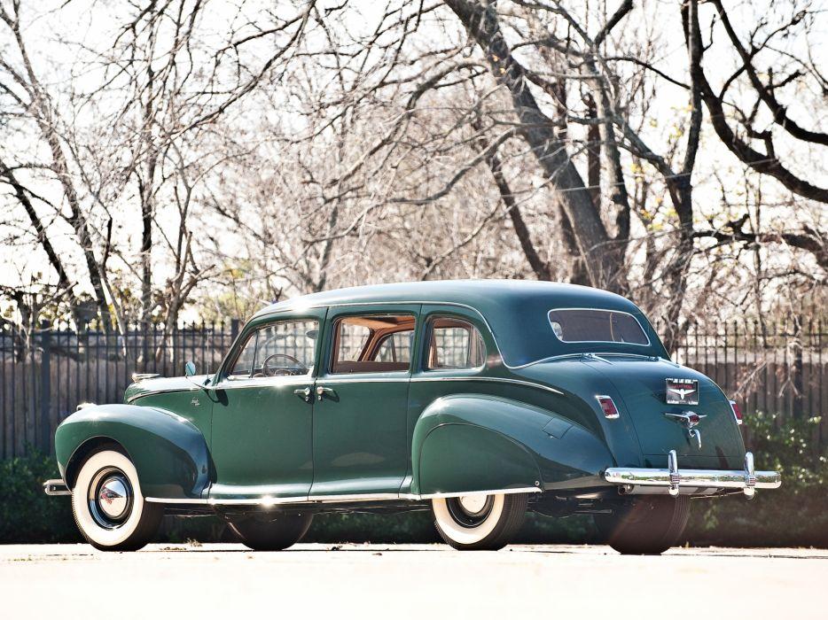 1941 Lincoln Custom Limousine retro luxury  f wallpaper