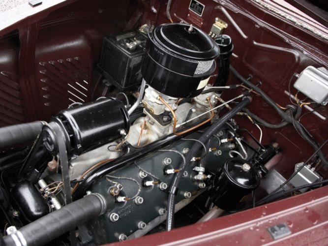 1941 Lincoln Zephyr Club Coupe retro engine h wallpaper