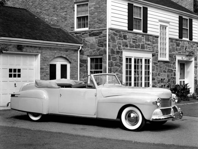 1942 Lincoln Continental 2-door Cabriolet 56 retro luxury f wallpaper