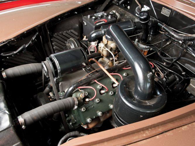 1942 Lincoln Continental 2-door Cabriolet 56 retro luxury engine h wallpaper