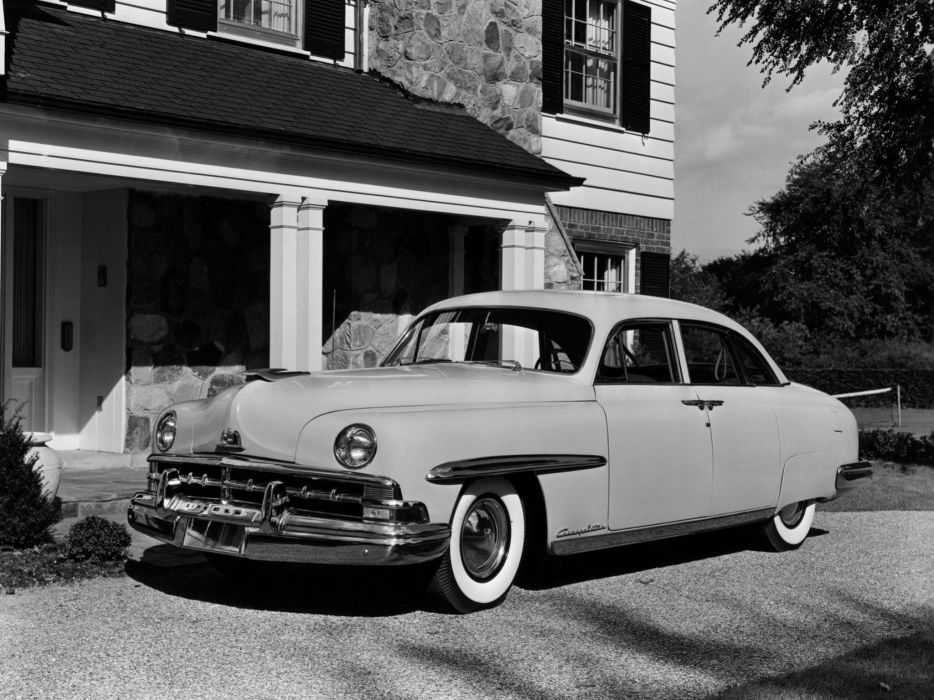 1950 Lincoln Cosmopolitan Sport Sedan H-74 retro wallpaper