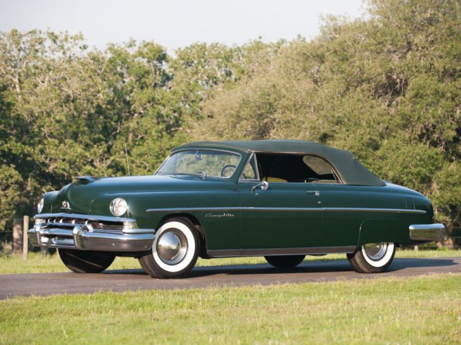 1951 Lincoln Cosmopolitan Convertible H-76 retro luxury h wallpaper