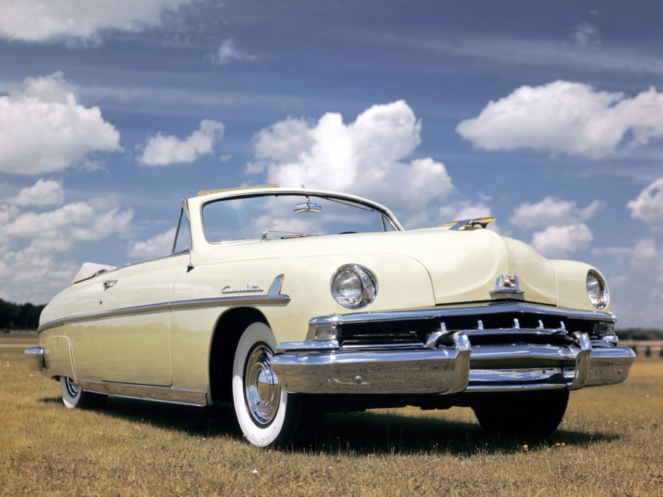 1951 Lincoln Cosmopolitan Convertible H-76 retro luxury   g wallpaper