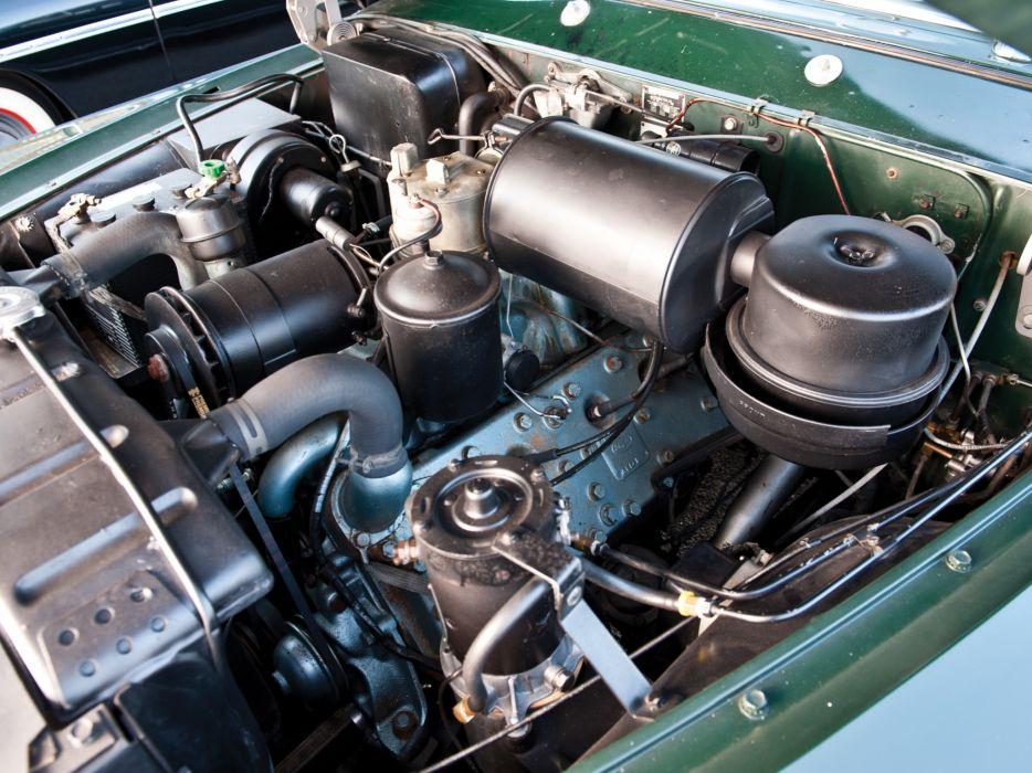 1951 Lincoln Cosmopolitan Convertible H-76 retro luxury engine          j wallpaper