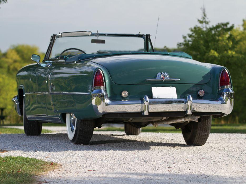 1953 Lincoln Capri Special Custom Convertible 76D wallpaper