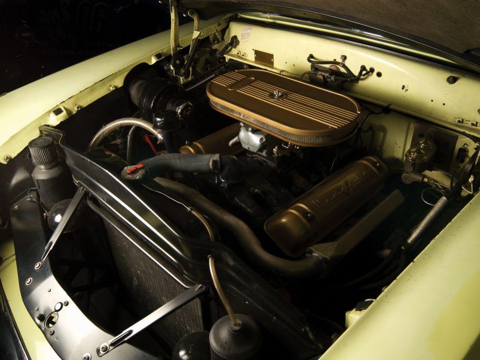 1954 Lincoln Capri Panamericana Road Racer retro race racing engine          h wallpaper