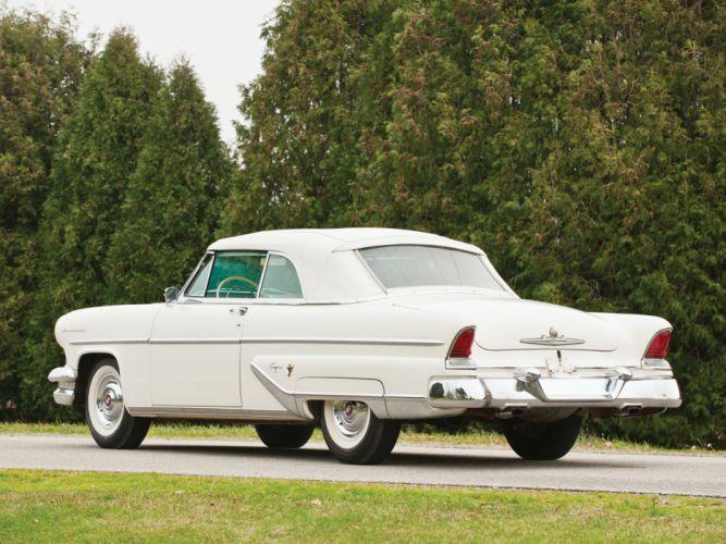 1955 Lincoln Capri Special Custom Convertible 76A retro luxury g wallpaper