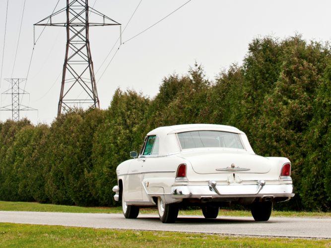 1955 Lincoln Capri Special Custom Convertible 76A retro luxury gd wallpaper