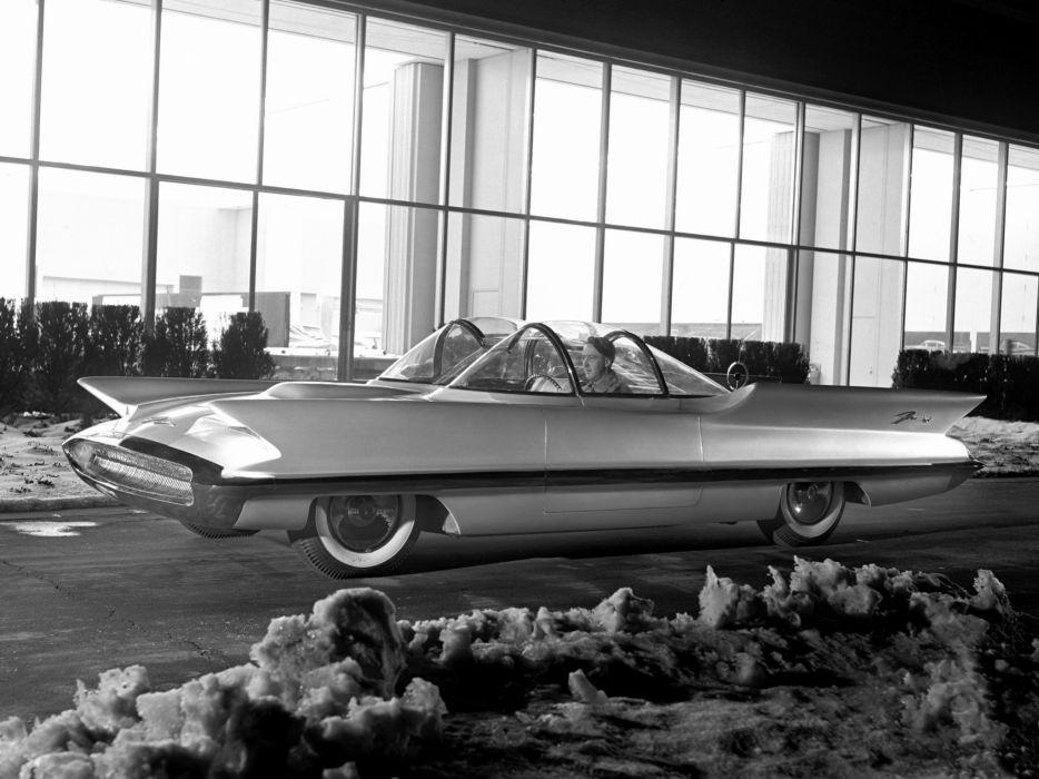 1955 Lincoln Futura Concept Car Retro Wallpaper 2048x1536 153838