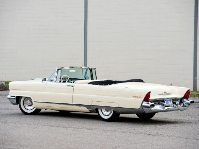 1956 Lincoln Premiere Convertible 76B retro luxury h wallpaper