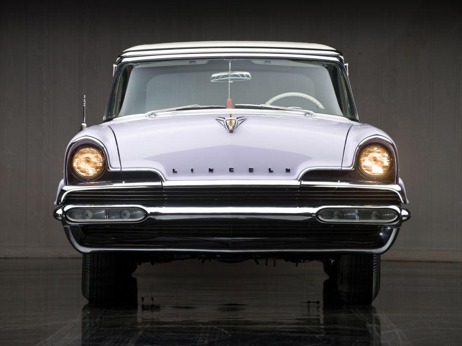 1956 Lincoln Premiere Convertible 76B retro luxury     j wallpaper