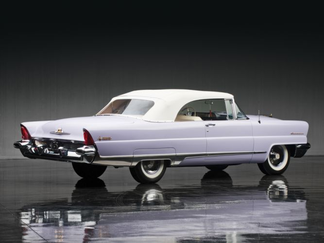 1956 Lincoln Premiere Convertible 76B retro luxury j wallpaper