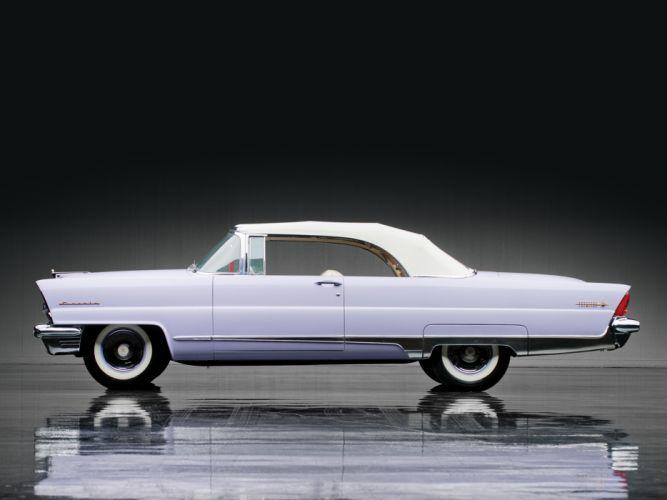 1956 Lincoln Premiere Convertible 76B retro luxury e wallpaper