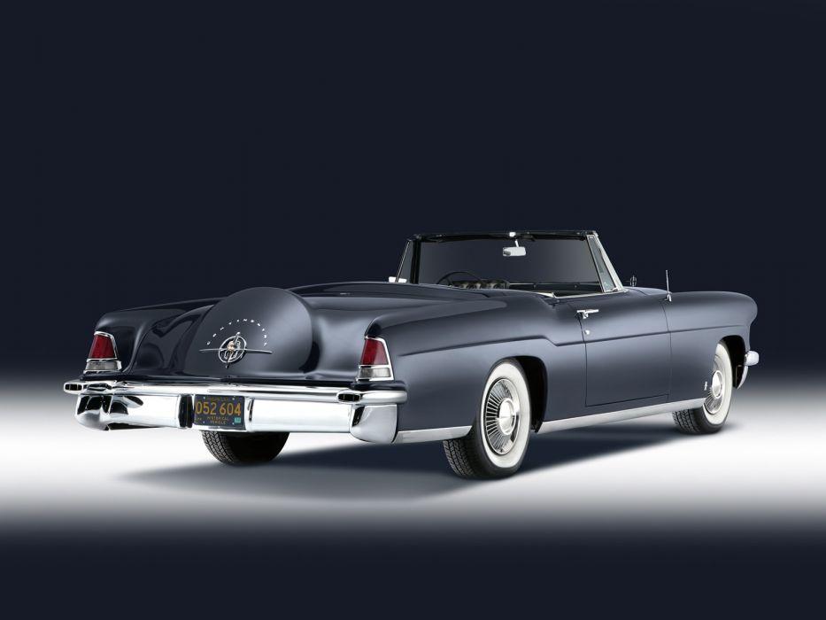1957 Lincoln Continental Mark-II Convertible luxury retro   y wallpaper