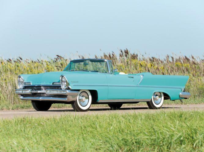 1957 Lincoln Premiere Convertible 76B retro luxury h wallpaper