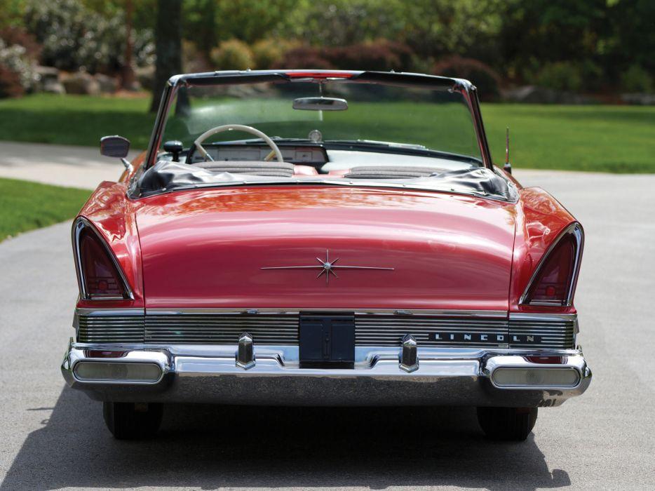 1957 Lincoln Premiere Convertible 76B retro luxury   gd wallpaper