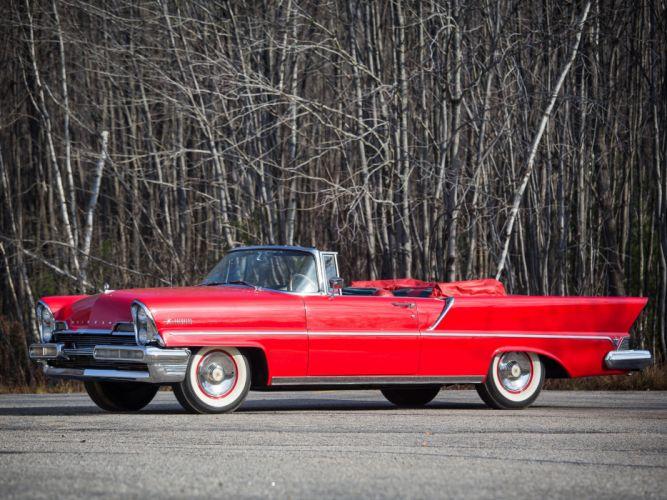 1957 Lincoln Premiere Convertible 76B retro luxury fh wallpaper