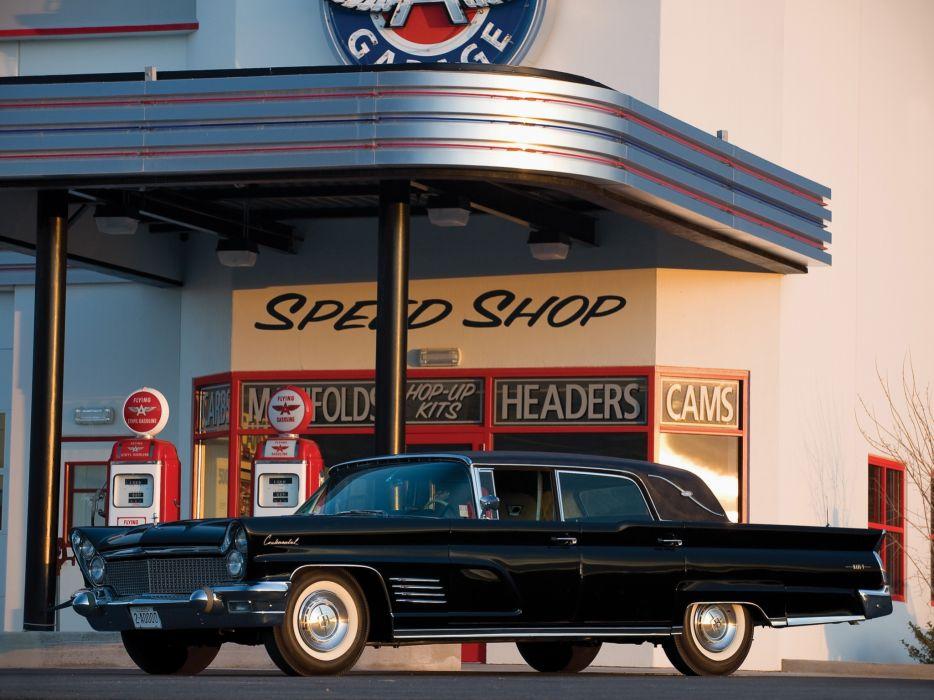 1960 Lincoln Continental Mark-V Limousine classic luxury wallpaper