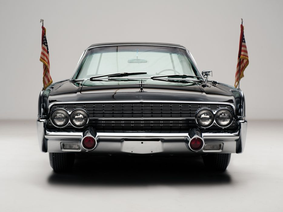1962 Lincoln Continental Bubbletop Kennedy Limousine classic luxury     g wallpaper