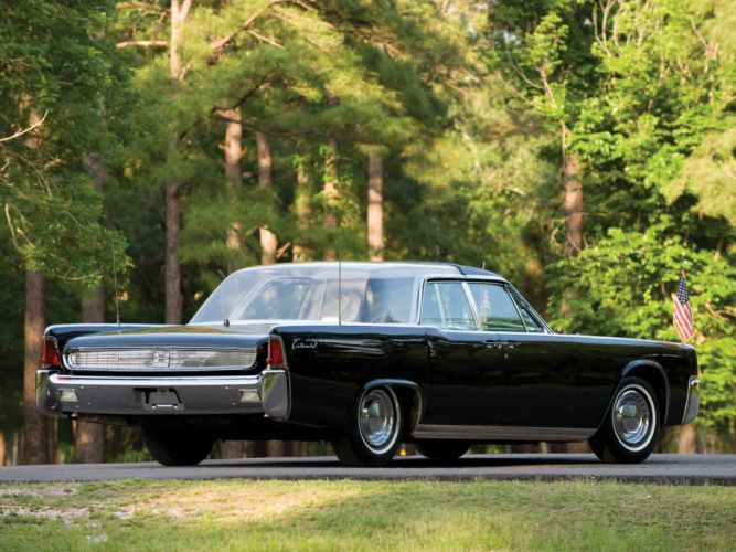 1962 Lincoln Continental Bubbletop Kennedy Limousine classic luxury fb wallpaper