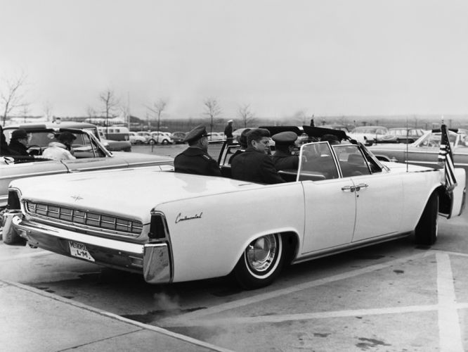 1963 Lincoln Continental Convertible classic luxury kennedy g wallpaper
