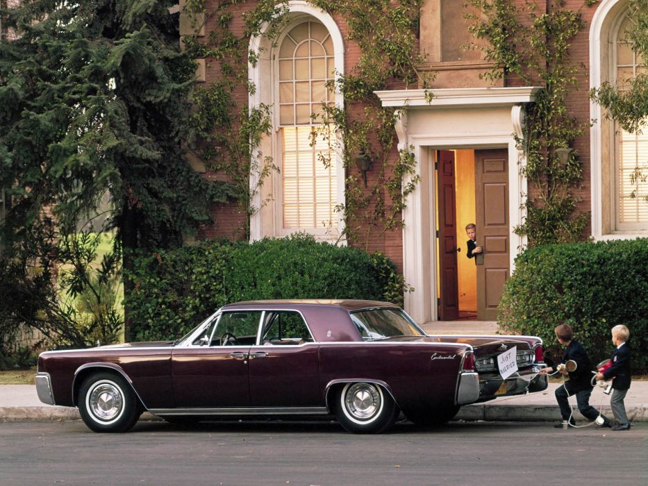 1963 Lincoln Continental Sedan 53A classic luxury  f wallpaper