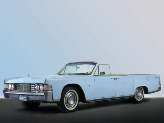1965 Lincoln Continental Convertible classic luxury g wallpaper