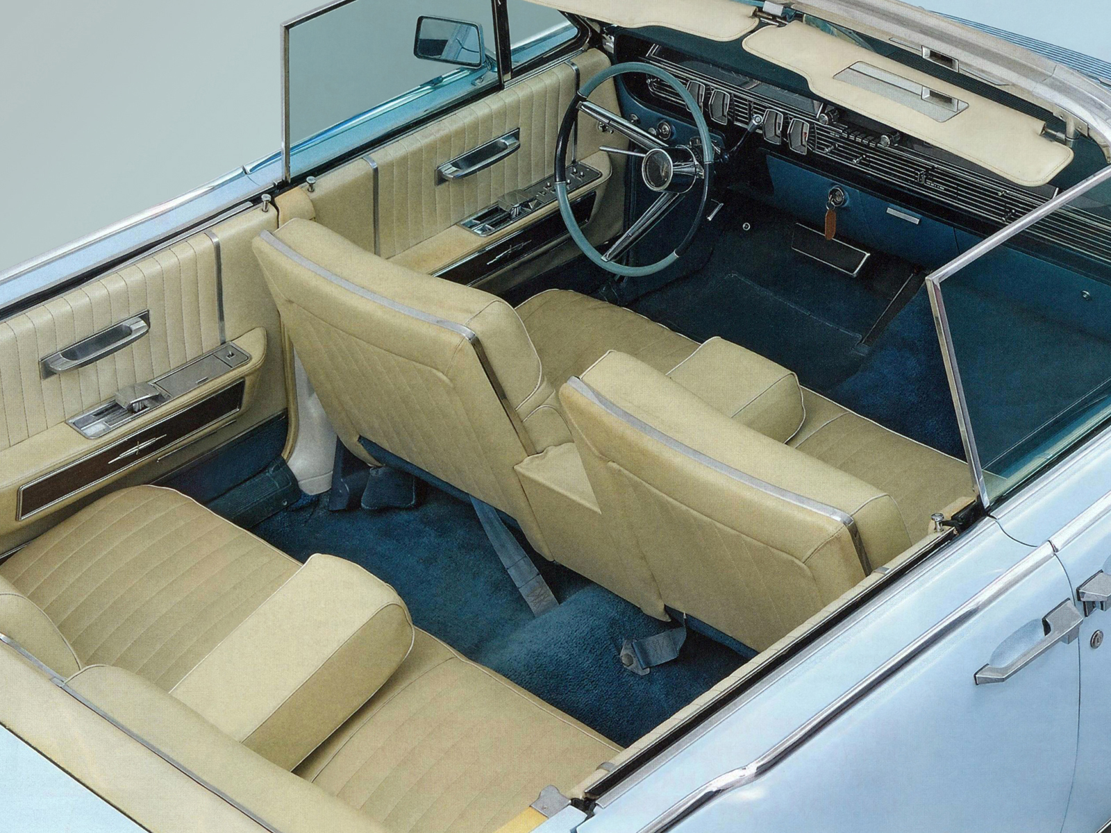 1965 Lincoln Continental Interior Trim - Automotive Mileposts