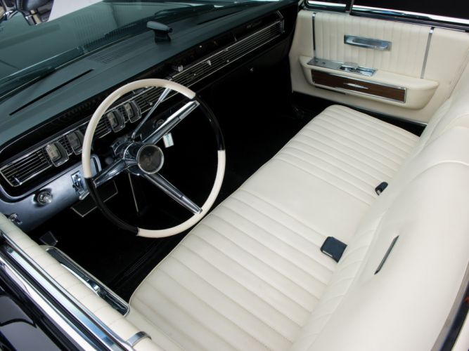 1965 Lincoln Continental Convertible classic luxury interior t wallpaper
