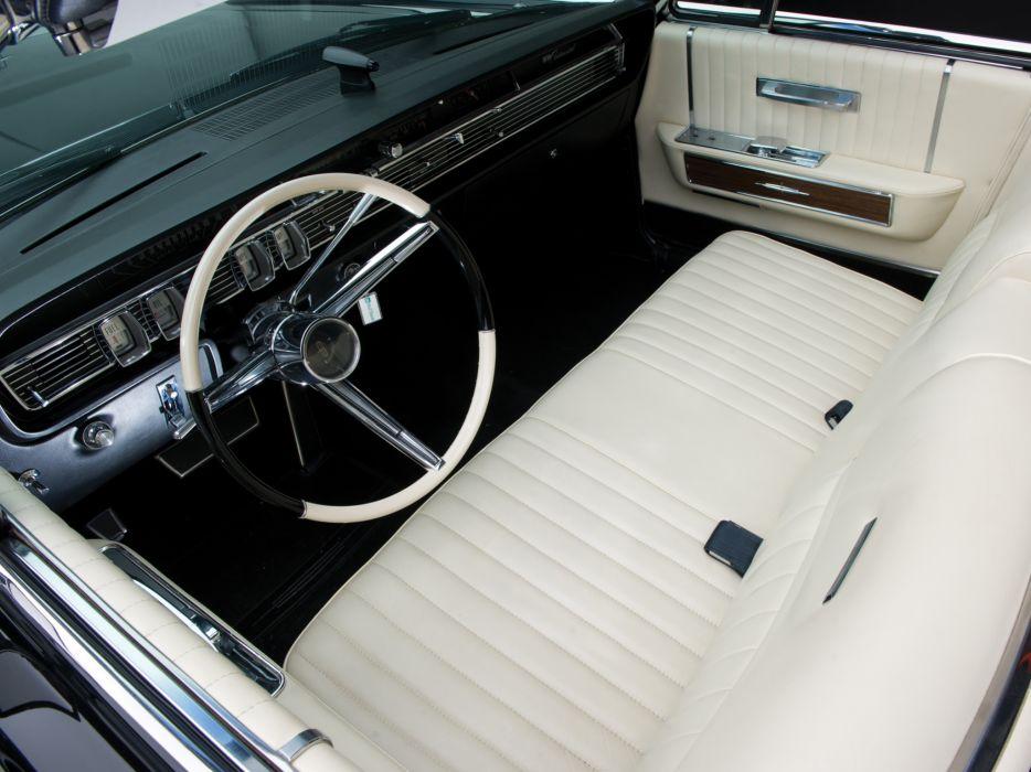 1965 Lincoln Continental Convertible classic luxury interior t ...