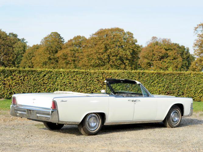 1965 Lincoln Continental Convertible classic luxury f wallpaper