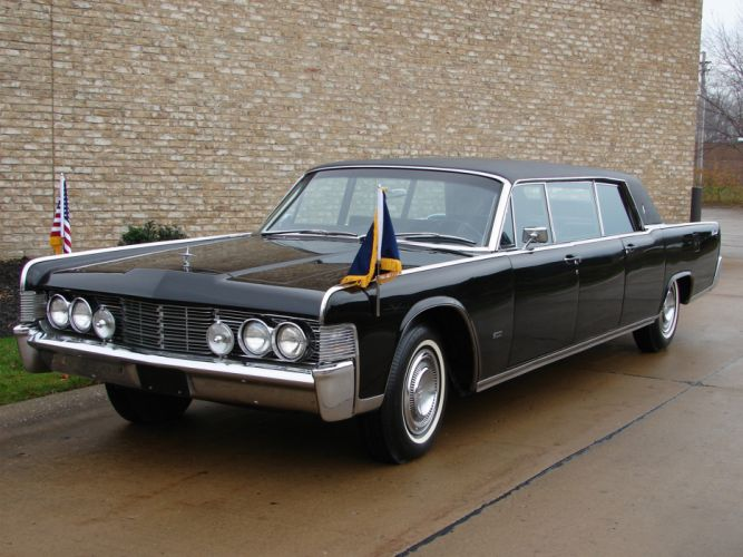 1965 Lincoln Continental Executive Limousine by Lehmann-Peterson classic luxury g wallpaper