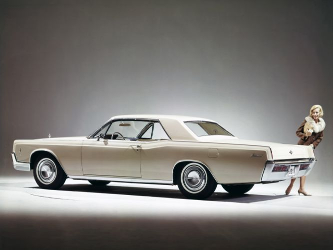 1966 Lincoln Continental Hardtop Coupe classic luxury hf wallpaper