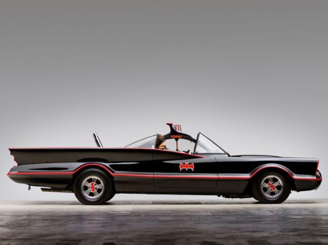 1966 Lincoln Futura Batmobile by Barris Kustom custum superhero batman dark knight supercar concept g wallpaper