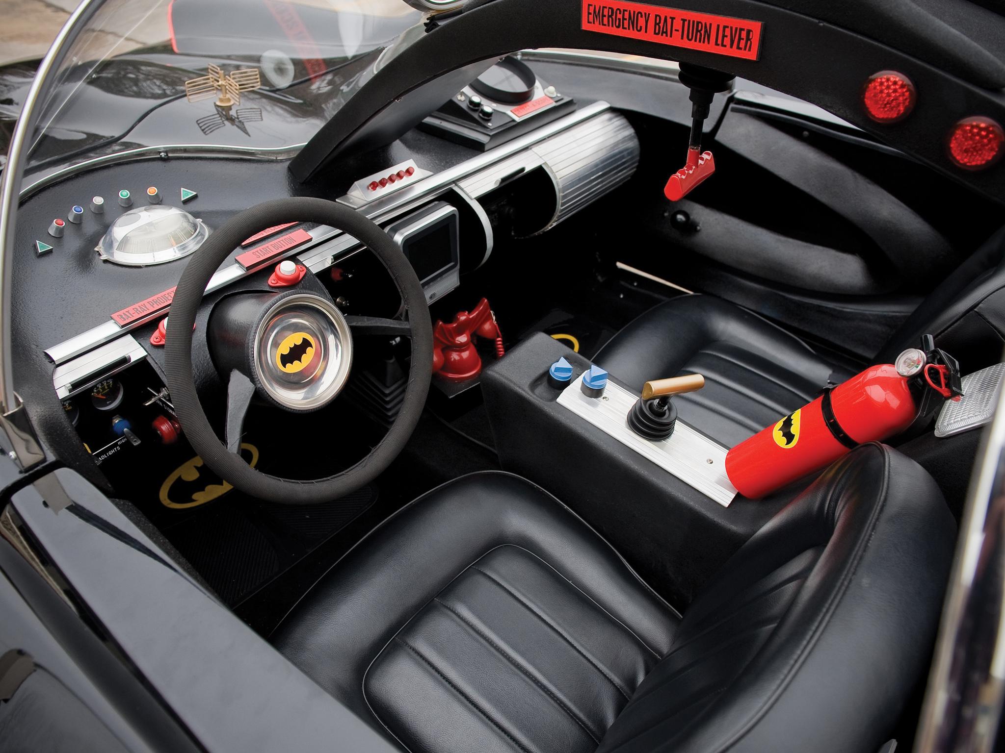 Mad 4 Wheels - 1966 Lincoln Futura Batmobile by Barris Kustom ...