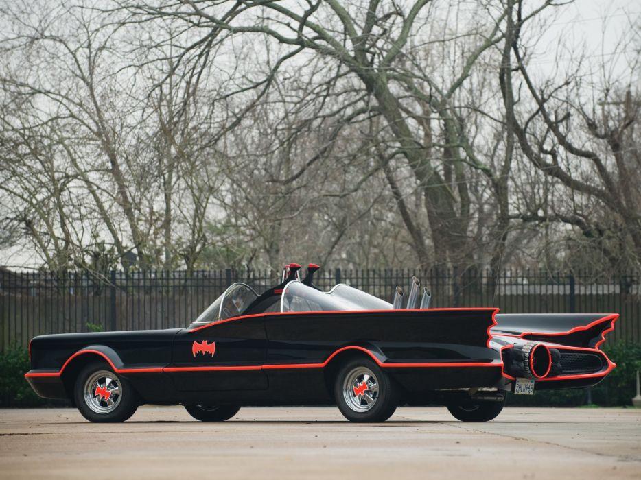 1966 Lincoln Futura Batmobile by Barris Kustom custum superhero batman dark knight supercar concept   gd wallpaper