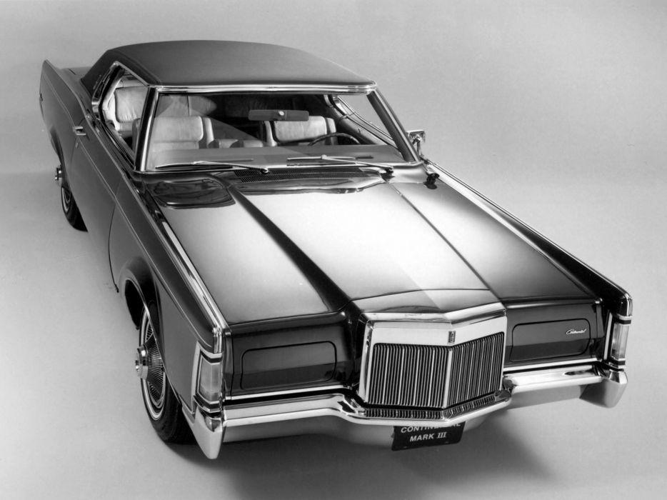 1968 Lincoln Continental Mark-III classic luxury    t wallpaper