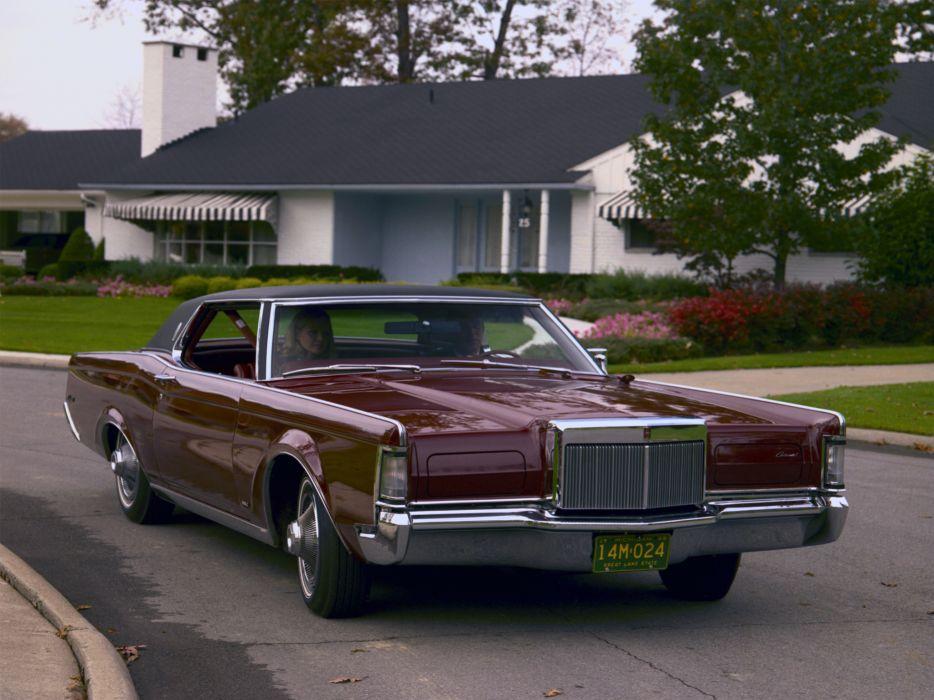 1968 Lincoln Continental Mark-III classic luxury   g wallpaper
