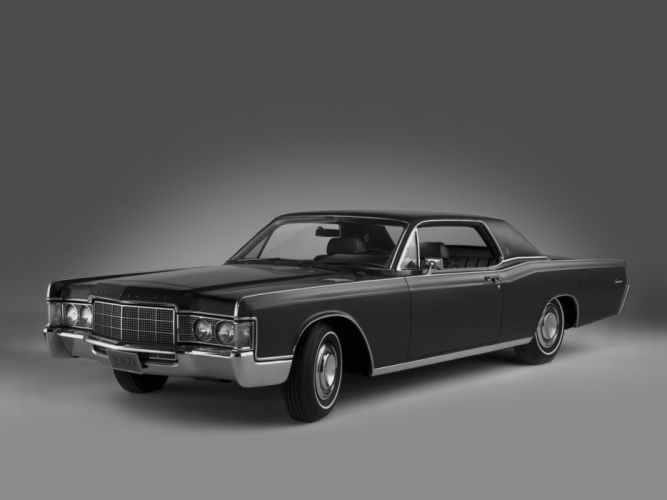 1969 Lincoln Continental Hardtop Coupe 65A classic luxury wallpaper