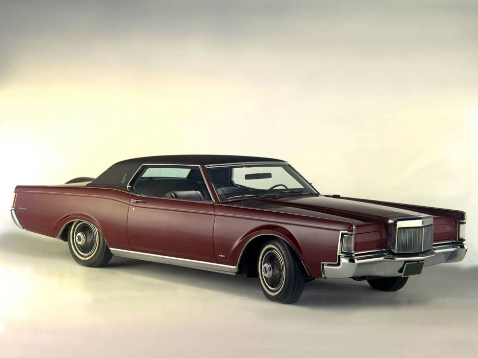 1969 Lincoln Continental Mark-III classic luxury wallpaper