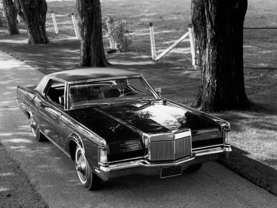 1971 Lincoln Continental Mark-III classic luxury     g wallpaper