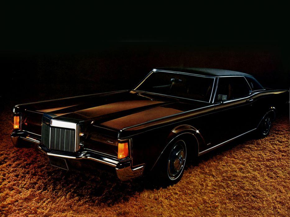 1971 Lincoln Continental Mark-III classic luxury  t wallpaper