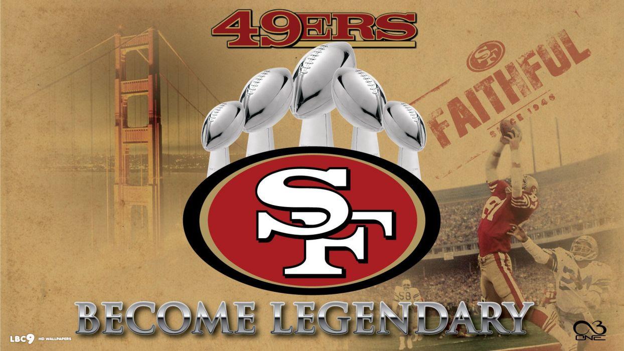 SAN FRANCISCO 49ers nfl football     h wallpaper