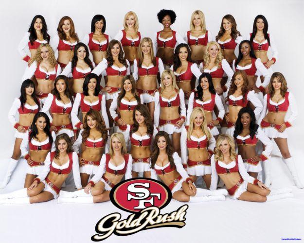 SAN FRANCISCO 49ers nfl football cheerleader wallpaper