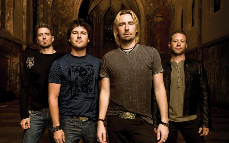 Nickelback Canadian Rock Band Alberta wallpaper
