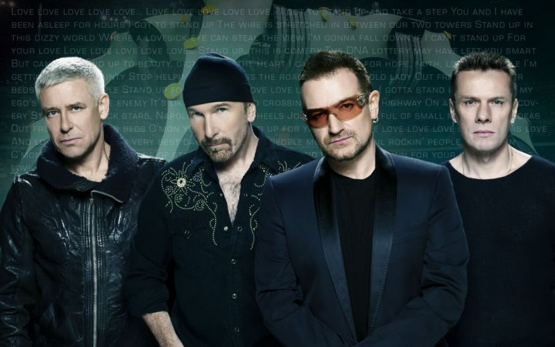 U2 Irish Rock Band Dublin wallpaper