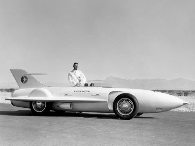 1954 General Motors Firebird I Concept Car g-m retro race racing jet d wallpaper