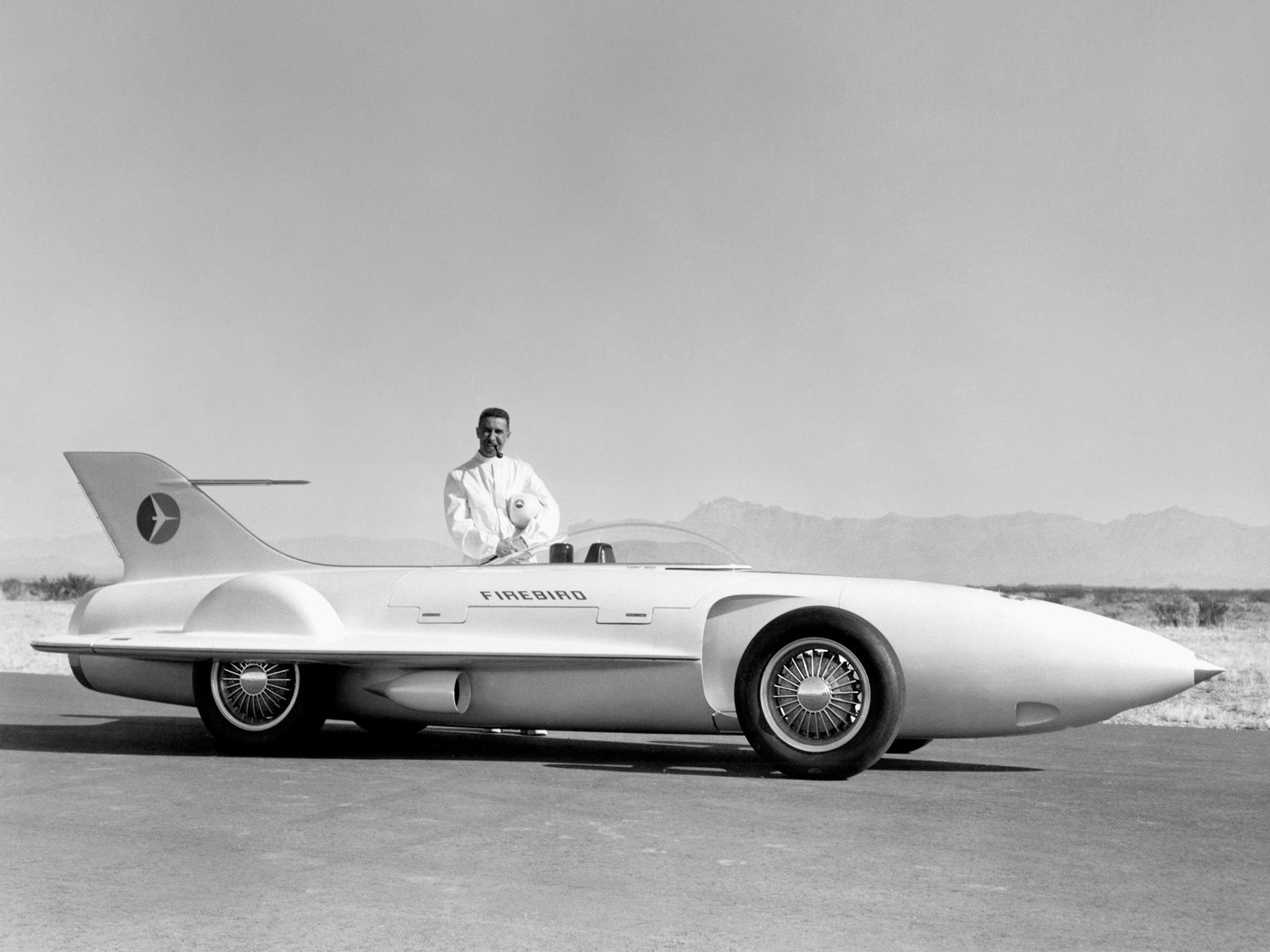 1954 General Motors Firebird I Concept Car g-m retro race ...