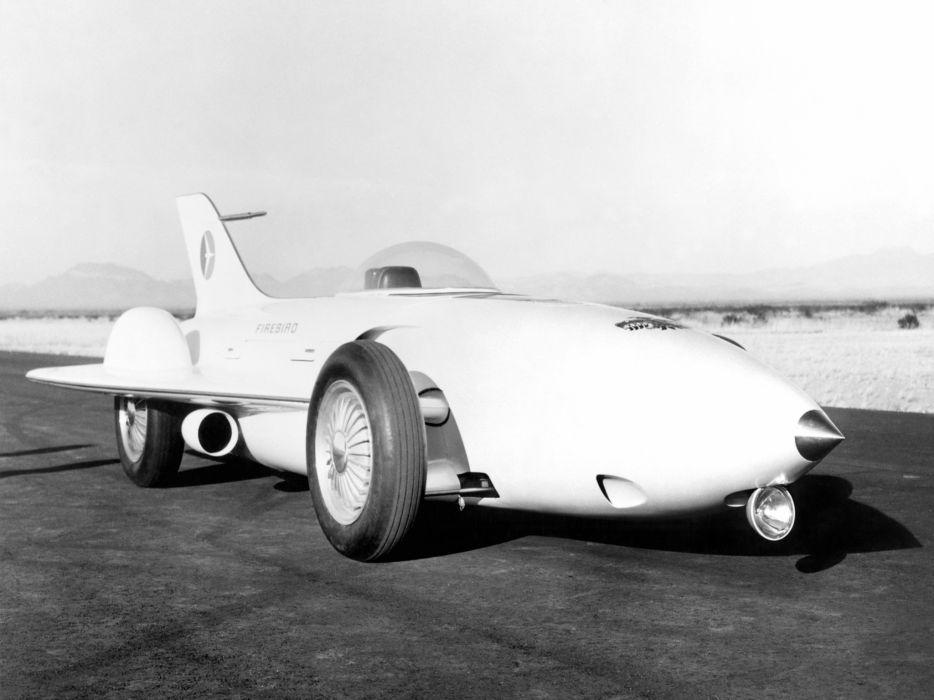 1954 General Motors Firebird I Concept Car g-m retro race racing jet   f wallpaper