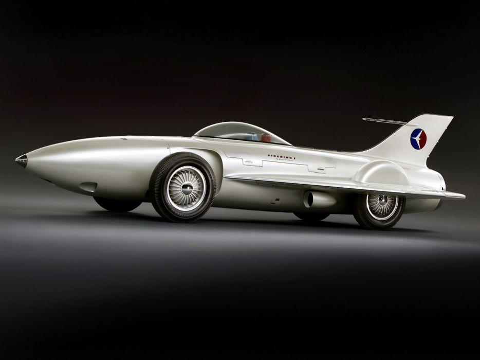 1954 General Motors Firebird I Concept Car g-m retro race racing wallpaper